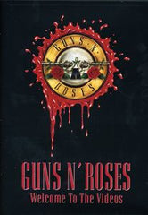 Guns N' Roses: Welcome to the Videos DVD 2003 13 Full Music Videos Includes Top Hits
