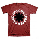 "Red Hot Chili Peppers: Black Asterisk T-Shirt ""Band Licensed Logo"" Medium 02/15/15 Release Date  Special Price"