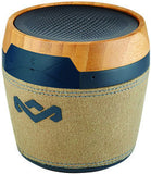 House of Marley Chant BT-Mini Bluetooth Speaker (Navy) Lithium Ion Up To 8 Hours