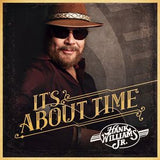 Hank Williams Jr. : It's About Time CD 2016 01-15-16