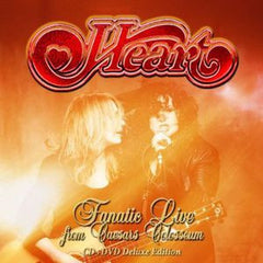 Heart: Fanatic Live From Caesar's Colosseum Windsor, Ontario 2012 DVD 2014 16:9 DTS-5.1