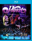 Heart: Live At The Royal Albert Hall With Royal Philharmonic Orchestra 2016 (Blu-ray) 2016 DTS-HD Master Audio 12-02-16 Release Date