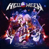 "HELLOWEEN: ""United"" Alive Pumpkins United Tour Tour 2017 (3 CD/2 Blu-ray) Release Date: 10/4/2019"