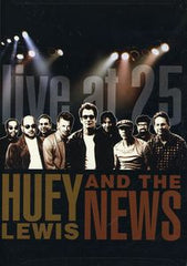 Huey Lewis & The News: Live At 25 DVD 2005 16:9 Dolby Digital 5.1 18 Live Concert Tracks