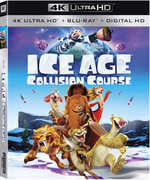 Ice Age: Collision Course (Blu-Ray, 4K Mastering, Digitally Mastered in HD, 2PC) 2016 10-11-16 Pre-order Release Date
