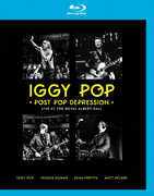 Iggy Pop: Post Pop Depression Live At The Royal Albert Hall 2 CD Plus (Blu-ray) 2016 DTS-HD Master Audio 10-28-16 Release date