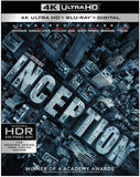 Inception 4K Ultra HD-Blu-ray-Digital Download 2017 Release Date: 12/19/17