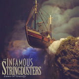 The Infamous Stringdusters: Laws Of Gravity CD 2017 Bluegrass Music Association Awards & Best Country Instrumental Nominee's