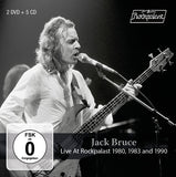 Jack Bruce & Friends: Live At Rockpalast 1980 1983 And 1990 Clapton Santana Sting... (5CD/2DVD)  Box Set 2019 Release Date 4/26/19