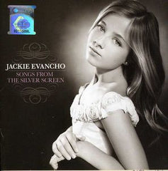 "Jackie Evancho: Songs From The Silver Screen PBS ""Great Performances"" 2012 Deluxe Import Edition CD & Bonus DVD 16:9 Dolby Digital 5.1"
