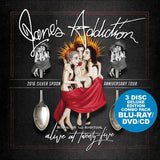 Jane's Addiction: Alive At Twenty-Five  Irvine Meadows CA 2016 (Blu-ray/DVD/CD) DTS-HD Master Audio 2017 08-04-17  Release Date