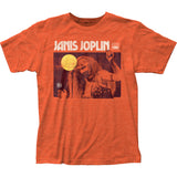 Janis Joplin:  Singing Live Rock and Roll T Shirt  Band Licensed Fitted Jersey Sizes Large-XL New release 2019