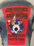 Jimi Hendrix, John Mayall, Albert King Flying Eyeball Blue Jean Jacket (-Medium-LARGE-XL) 2018  Stock Ships Today