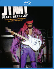Jimi Hendrix: Jimi Plays Berkeley 1970 (Blu-ray) 2012  DTS-HD Master Audio
