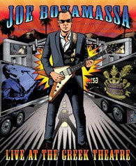 Joe Bonamassa: Live at The Greek Theatre 2015 DVD 2016 16:9 DTS 5.1 Release Date 9-23-16