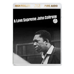 John Coltrane A Love Supreme: Deluxe Edition on (Blu-ray Pure Audio Only) Disc 2014 Audio Only Includes Hi Res Download RARE OUT OF PRINT