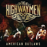 The Highwaymen Live American Outlaws Nassua Coliseum New York 1990.. Deluxe Edition 3CD/DVD 16:9 Dolby Digital Surround 2016