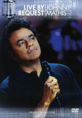 Johnny Mathis Live By Request TV A & E Video Live at New York's Sony Music Studios 1998 DVD 2001