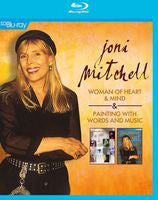 Joni Mitchell: Woman Of Heart & Mind/Paintings With Words & Music 2014 (Blu-ray) DTS-HD Master Audio