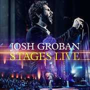 Josh Groban Stages Live PBS 2015 CD/Blu-ray Deluxe Edition 2016 02-05-16 Release Date