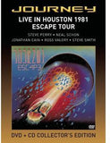 Journey: Live In Houston 1981 CD/DVD Deluxe Edition 2011 Steve Perry