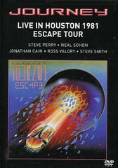 Journey: Live In Houston 1981 Escape Tour DVD 2011 Steve Perry & Neal Schon-Cain-Valory-Smith