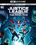 Justice League vs. the Fatal Five: (4K Ultra HD+Blu-ray,+Digital) 2 Pack Rated: PG13 2019 Release Date 4/16/19