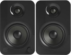 Kanto YU4 Powered Speakers with Bluetooth™ and Phono Preamp - Pair, Gloss Black -Gloss White -Matte White-Bamboo Includes Free Shipping USA
