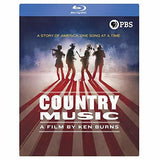 Ken Burns: Country Music A Film By Ken Burns PBS 16 Hour Documentary (Boxed Set 8 Blu-ray) 2019 Release Date 9/17/19