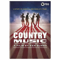 Ken Burns: Country Music A Film By Ken Burns PBS 16 Hour Documentary (Boxed Set 8 DVD 2019 Release Date 9/17/19