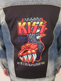 Kiss '96 Gargoyle Blue Jean Jacket (MED-LARGE-XL-XXL) 2019 IN STOCK NOW 2020