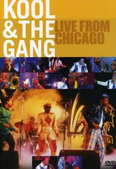 Kool & The Gang: Live From Chicago House Of Blues  2001 DVD Dolby Digital 5.1 VERY RARE