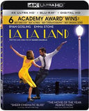 La La Land: 4K ULTRA HD + Blu-Ray +Digital HD DTS-HD Master Audio 2017 6 Academy Awards 04-25-17 Release Date