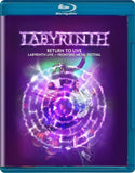 Labyrinth: Return To Live Frontiers Metal Festival in Trezzo 2016 (Blu-ray) DTS-HD Master Audio  Release Date 1/26/18