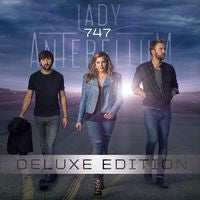 Lady Antebellum: 747 CD 2014 Deluxe Edition Includes 4 Bonus Tracks 09-30-14 Release Date