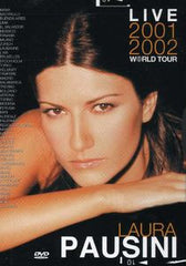 Laura Pausini: Live 2001-2002 World Tour DVD 2003 16:9 DTS 5.1
