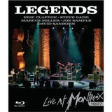 Legends: Live At Montreux 1997 (Blu-ray) 2008 Eric Clapton-Steve Gadd-Joe Sample-Marcus Miller