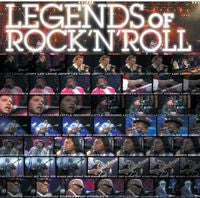 Legends Of Rock 'N' Roll 1989 Rome CD/DVD Deluxe Edition 2013 Jerry lee Lewis, Bo Diddley, Little Richard, B.B. KIng, Fats Domino, James Brown Ray Charles