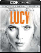 Lucy: 4K Ultra HD  (Ultraviolet Digital Copy, Slipsleeve Packaging, Digital Copy, Digitally Mastered in HD) Starring: Morgan Freeman -Pre-Order 08-09-16 Release Date