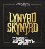 Lynyrd Skynyrd: Live In Atlantic City (Blu-ray) DTS 5.1 Audio 2018 Release Date 9/28/18
