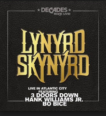Lynyrd Skynyrd: Live In Atlantic City CD 13 Live Tracks 2018 Release Date 9/28/18