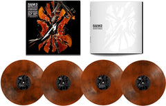 Metallica: S&M2 Live At San Francisco Chase Center 2019 Marble Orange Vinyl (Indie Exclusive) 4LP Set+Download Card Release Date 8/28/2020