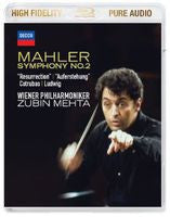 G. Mahler: Symphony No.2-Resurrection/Mehta (Blu-ray) 2014 High Fidelity Pure Audio Only 96kHz/24bit DTS-HD Master Audio