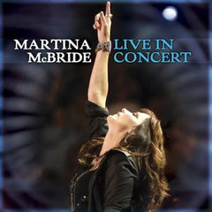 Martina McBride: Live in Concert 2008 Deluxe Edition CD/DVD Great Performances PBS Special 16:9 DTS 5.1 Audio
