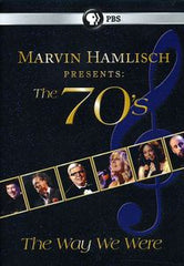 Marvin Hamlisch Presents: The 70's The Way We Were DVD 2011 PBS Special 16:9 Dolby Digital Stereo