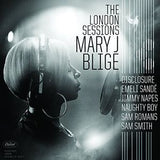 Mary J. Blige: The London Sessions CD 2014 Guests Disclosure, Eg White, Emile Sandé, Jimmy Napes, Naughty Boy, Sam Romans and Sam Smith.