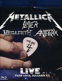 The Big 4: Live From Sofia, Bulgaria Metallica-Slayer-Megadeth-Anthrax 2010 Two Disc (Blu-ray) 2010 DTS HD Master Audio
