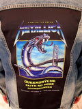 Metallica: Queensryche Iron Snake On The Bridge Blue Jean Jacket (Unisex Medium) 2018 RARE In Stock