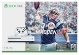 Microsoft Xbox One S 1TB Console: White - Madden NFL 17 Bundle Free Shipping USA