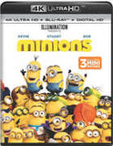 Minions: Illumination 3 Mini Movies 4K Ultra HD Blu-ray & Digital 2017 Voices of Sandra Bullock, Jon Hamm, Michael Keaton, Allison Janney, Steve Coogan 09-05-17 Release Date